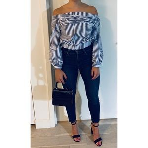 Zara Tops - Zara Off the Shoulder Blouse